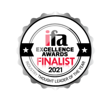 IFA Award Finalist Industry Thought Leader of the Year 2019